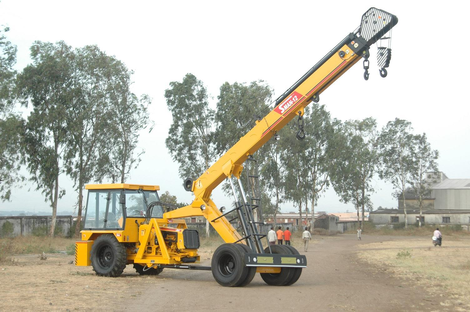 Need of crane services abc infra equipment pvt ltd for The crain