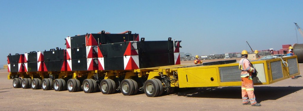 Modular Hydraulic Axle Trailer