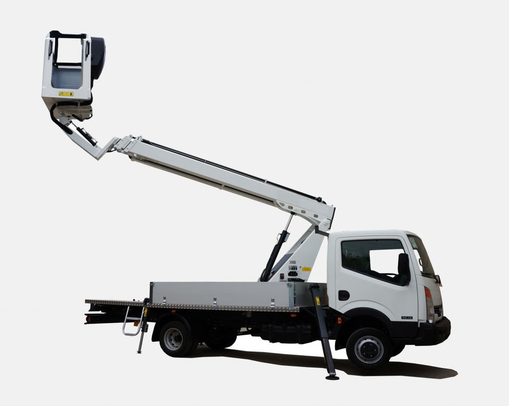 Boom Lift Truck : Truck mounted boom lift rental service hire